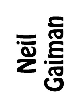 Author of the Month: Neil Gaiman
