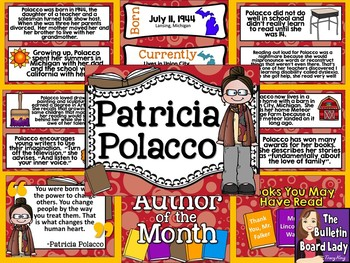 Author of the Month Patricia Polacco