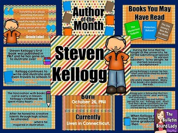 Author of the Month Steven Kellogg