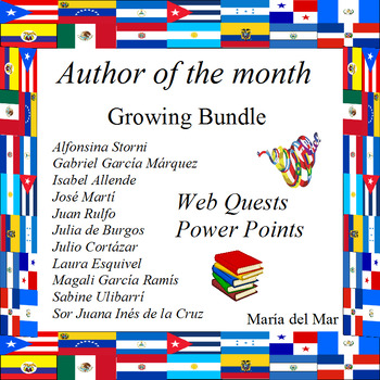 Author of the month Growing Bundle