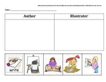 Author or Illustrator