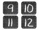 Chalkboard Numbers 1-20