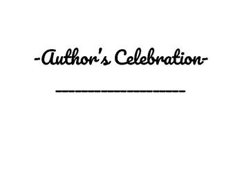 Author's Celebration