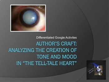 """Author's Craft: Analyzing the Creation of Tone an Mood in """"The Tell-Tale Heart"""""""