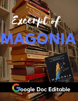 Author's Craft : Magonia Read Like a Writer