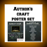 Author's Craft Poster and Examples Poster Set
