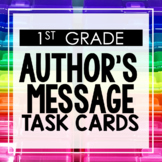 Author's Message 1st Grade Reading Toothy® Task Kits