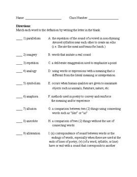 Author's Methods Quiz