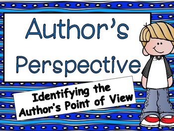 Author's Perspective:Power Point