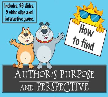 Author's Perspective Point of View Purpose Nonfiction Teach Analyze