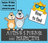 Author's Perspective Point of View Purpose Nonfiction Teac