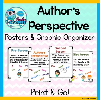 Author's Perspective (Posters and Graphic Organizer)