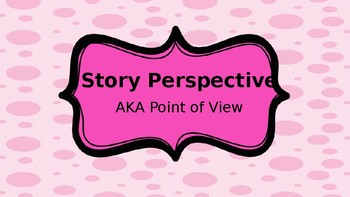 Author's Perspective or Point of View