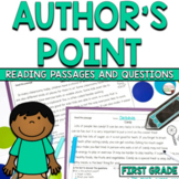 Author's Point and Reasons