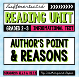 Author's Point and Reasons (RI.2.8 and RI.3.8)
