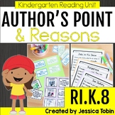 Author's Point and Reasons RIK.8