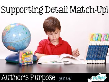 Author's Point and Supporting Details