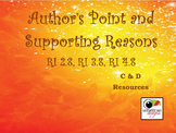 Author's Point and Supporting Reasons RI 2.8, RI 3.8, R I4.8