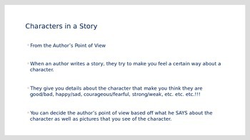 Author's Point of View