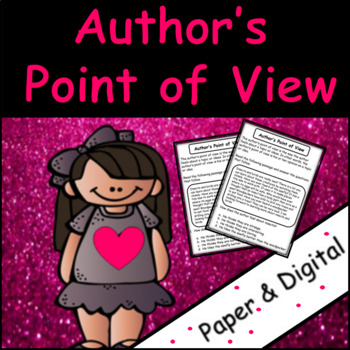 Author's Point of View: Reading Passages and Questions