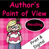Author's Point of View: Passages and Comprehension focused on perspective