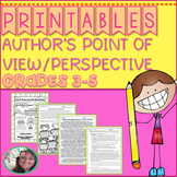 Author's Point of View (Author's Perspective) PRINTABLES: 4.RI.8/ 5.RI.8