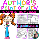 Author's Point of View Performance Tasks PRINTABLES Inform