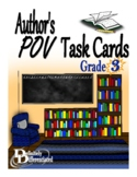 Author's Point of View Differentiated Task Cards