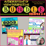 Author's Point of View BUNDLE: Printables, Sort, Game, Per