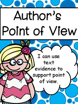 Author's Point of View/Perspective: Instructional Resources