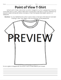 Author's Point of View T-Shirt Activity