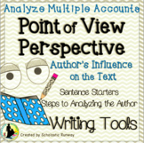 Author's Point of View Analyze Multiple Accounts Non-fiction Text