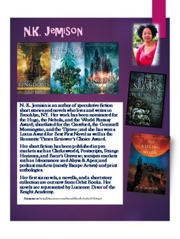 Author's Posters Set 2--Printed and Laminated