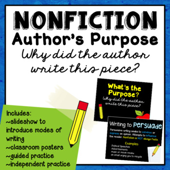 Author's Purpose Slideshow