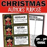 Christmas Author's Purpose Activities