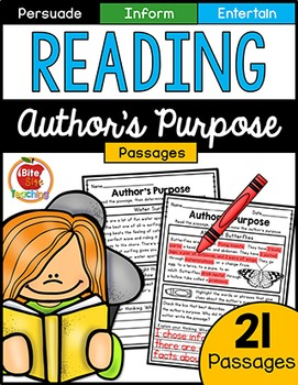 Author's Purpose Reading Passages