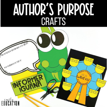 Author's Purpose Activities for the whole year!
