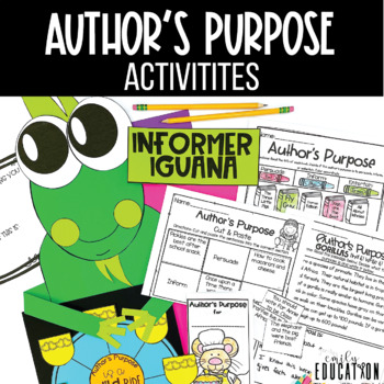 Author's Purpose Activities THE  BUNDLE