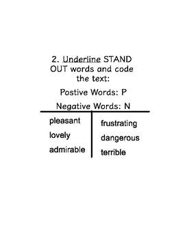 Author's Purpose Anchor Chart/Handouts