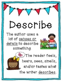 Author's Purpose Anchor Chart Posters - Go Beyond PIE