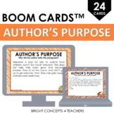 Author's Purpose BOOM Cards / Digital Task Cards
