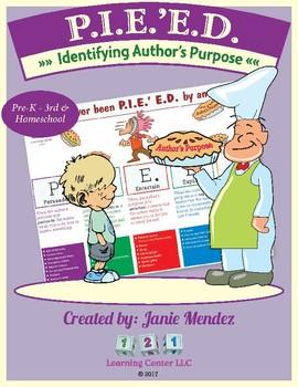 Author's Purpose & Beyond: PIE'ED