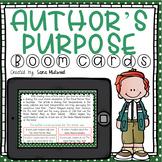 Author's Purpose Boom Cards
