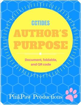 Author's Purpose-CCTIDES