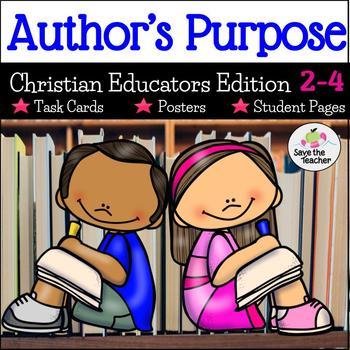 Author's Purpose Christian Educators Edition