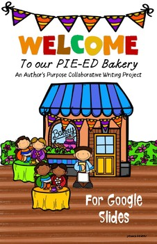 Author's Purpose Collaborative Writing Project