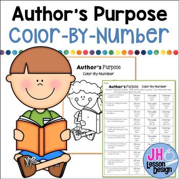 Author's Purpose: Color-By-Number