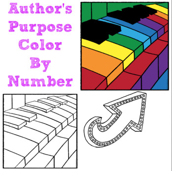 Author's Purpose Color by Number