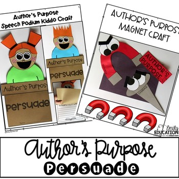 Author's Purpose: Easy as PIE (and More) FREEBIE! - Mandy's Tips ...