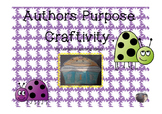 Author's Purpose Craftivity